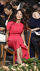 Amal Clooney at the Nobel Peace Prize Ceremony - 10 Dec 2018