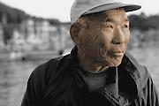 Fisherman in Fishing Village