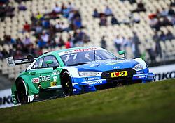 October 13, 2017 - Hockenheim, Germany - Motorsports: DTM Hockenheim-II 2017,.Castrol EDGE Audi RS 5 DTM #77 (Audi Sport Team Phoenix), Loïc Duval  (Credit Image: © Hoch Zwei via ZUMA Wire)