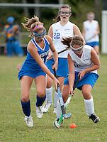 Girls varsity Field Hockey Gilford versus Somersworth September 14, 2010.