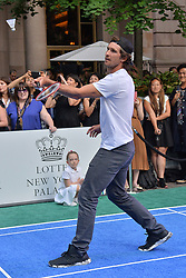 August 23, 2018 - New York, NY, USA - August 23, 2018  New York City..Mischa Zverev attending the 4th Annual Palace Invitational at the Lotte Palace Hotel on August 23, 2018 in New York City. (Credit Image: © Kristin Callahan/Ace Pictures via ZUMA Press)