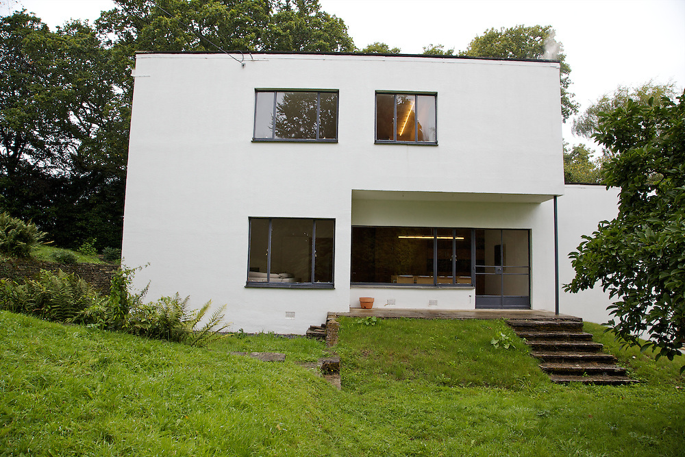 Side view exterior of Warren House, Wayne McGregor's Dartington Estate home in Devon<br /> Vanessa Berberian for The Wall Street Journal