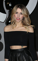 Peaches Geldof arriving at the BRIT Awards in London, Wednesday, 19th February 2014. Picture by Stephen Lock / i-Images<br /> File photo - Peaches Geldof  died of heroin overdose coroner rules today Wednesday 23rd July 2014.