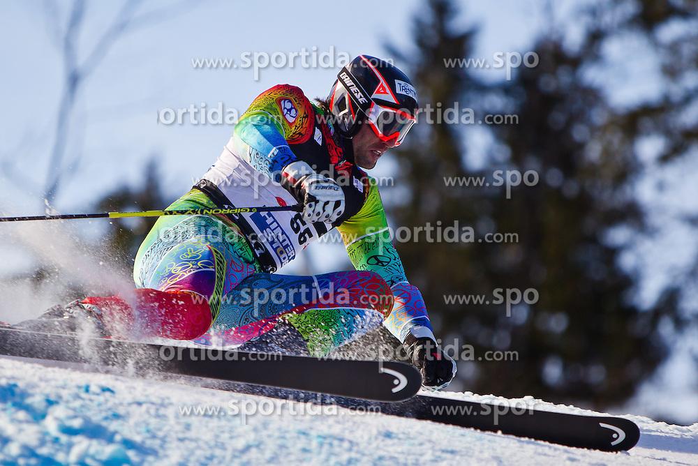 06.02.2011, Hannes-Trinkl-Strecke, Hinterstoder, AUT, FIS World Cup Ski Alpin, Men, Hinterstoder, Riesentorlauf, im Bild Mirko Deflorian (MDA) // Mirko Deflorian (MDA) during FIS World Cup Ski Alpin, Men, Giant Slalom in Hinterstoder, Austria, February 06, 2011, EXPA Pictures © 2011, PhotoCredit: EXPA/ J. Feichter