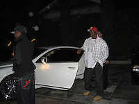 Tyrese outside Ago Restaurant.West Hollywood, California, USA.Saturday, February 24, 2007.Photo By Celebrityvibe; .To license this image please call (212) 410 5354 ; or.Email: celebrityvibe@gmail.com ;