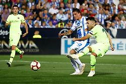 September 26, 2018 - Munir of FC Barcelona during the La Liga (Spanish Championship) football match between CD Leganes and FC Barcelona on September 26th, 2018 at Municipal Butarque stadium in Madrid, Spain. (Credit Image: © AFP7 via ZUMA Wire)