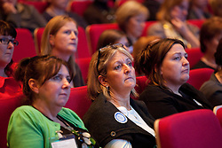 © under license to London News Pictures. 17/11/2010. An audience of Midwives listen to Health Minister Anne Milton MP's speech at The Royal College of Midwives' conference, in Manchester