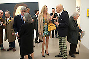 TIMOTHY TAYLOR;ADA KATZ;  BETTINA BALHSEN; ALEX KATZ;, Alex Katz opening. Timothy Taylor gallery. London. 3 March 2010.