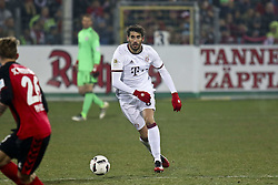 January 20, 2017 - Freiburg, Germany - Javier Martinez 8 during the German first division Bundesliga football match SC Freiburg vs FC Bayern Munich in Freiburg, Germany, on January 20, 2017. (Credit Image: © Elyxandro Cegarra/NurPhoto via ZUMA Press)