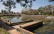 Lake in the Forbidden Purple City, Hue Citadel / Imperial City, Hue, Vietnam