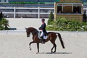 Gareth Hughes - DV Stenkjers Nadonna, Jury Anne Marie Swenden Joly<br /> Test Event WEG Normandie 2014<br /> © DigiShots