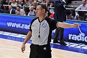 DESCRIZIONE : Campionato 2014/15 Dinamo Banco di Sardegna Sassari - Grissin Bon Reggio Emilia<br /> GIOCATORE : Gianluca Mattioli<br /> CATEGORIA : Arbitro Referee Mani<br /> SQUADRA : AIAP<br /> EVENTO : LegaBasket Serie A Beko 2014/2015<br /> GARA : Dinamo Banco di Sardegna Sassari - Grissin Bon Reggio Emilia<br /> DATA : 22/12/2014<br /> SPORT : Pallacanestro <br /> AUTORE : Agenzia Ciamillo-Castoria / Luigi Canu<br /> Galleria : LegaBasket Serie A Beko 2014/2015<br /> Fotonotizia : Campionato 2014/15 Dinamo Banco di Sardegna Sassari - Grissin Bon Reggio Emilia<br /> Predefinita :