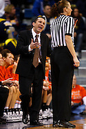 30 January 2010:  Bowling Green head coach Curt Miller during the NCAA basketball game between Bowling Green and the Toledo Rockets at Savage Arena in Toledo, OH.