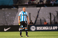 AVELLANEDA, BUENOS AIRES, ARGENTINA - 2017 NOVEMBER 01. Racing Club (5) Egidio Arévalo Ríos (on loan from Veracruz) during the Copa Sudamericana quarter-finals 2nd leg match between Racing Club de Avellaneda and Club Libertad at Estadio Juan Domingo Perón,  <br /> ( Photo by Sebastian Frej )