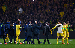 January 31, 2019 - Nantes, France - Ambiance - Hommage a Emiliano Sala - TRAORE Charles ( Nantes ) - HALILHODZIC Vahid  (Credit Image: © Panoramic via ZUMA Press)