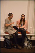 GEORGIE JOHNSON; MARTHA ELLIS-LEACH, Mario Merz, Pace Gallery.  at 6 Burlington Gardens, 25 September 2014.