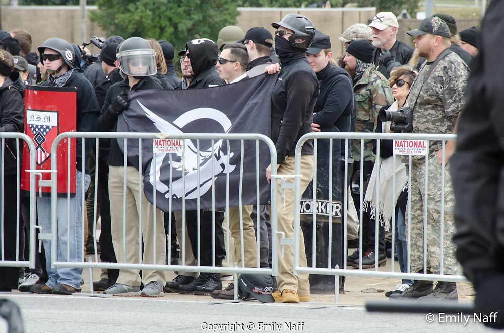 White Nationalist Rally in Shelbyville TN was met by a much larger crowd of counter protesters.