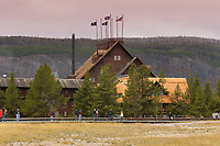 Old Faithfull Inn, Yellowstone National Park   Photo: Peter Llewellyn