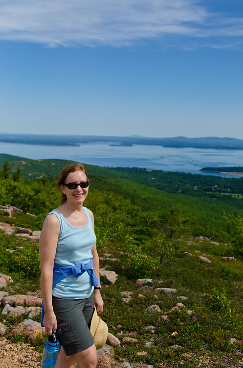 Camping New Hampshire White mountains and Acadia National park Maine. July 2017