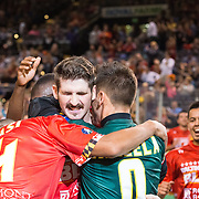 The Baltimore Blast defeat the Chicago Mustangs 7-4 in the Blast's season opener