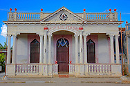 Masonic lodge in San José de las Lajas, Mayabeque, Cuba.