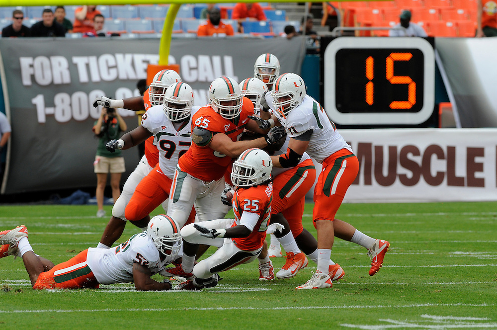 2012 Miami Hurricanes Football Spring Game