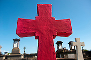 The Red Cross. Cemetery at Port Louis.