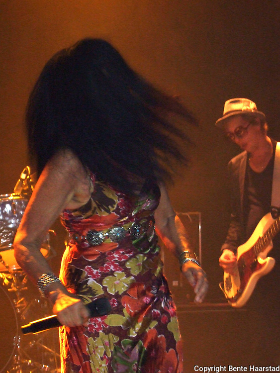 Concert with the danish singer Annisette Koppel and The Savage Rose, Trondheim, Norway.