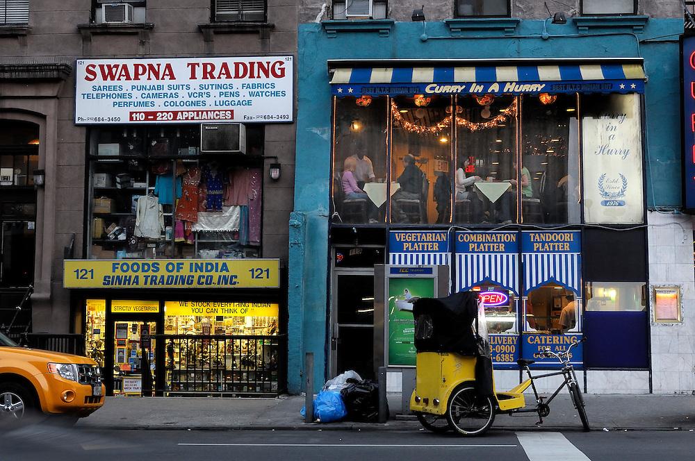 Curry in a Hurry Restaurant, Lexington Avenue\28th Street, Manhattan, New York, New York, USA