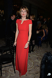 The HON.ALEXANDRA HOOPER at the 26th Cartier Racing Awards held at The Dorchester, Park Lane, London on 8th November 2016.