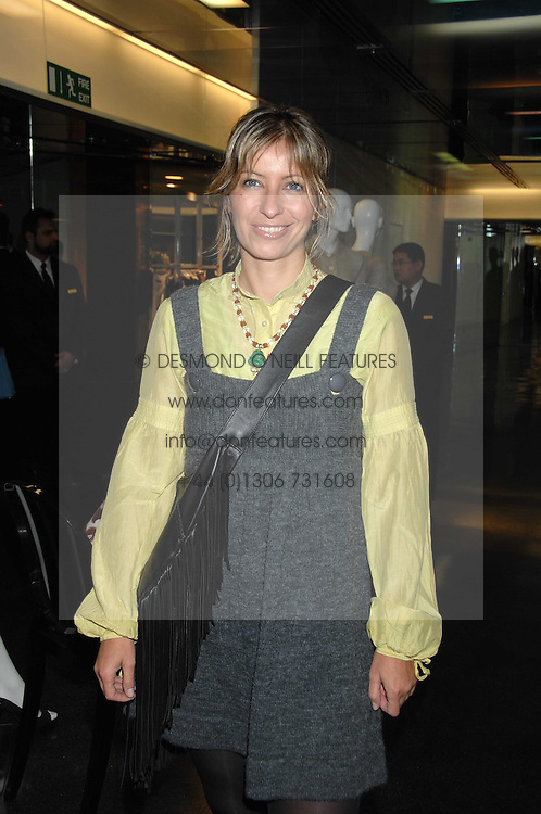 MAYA FIENNES at a party to celebrate the launch of Holly Peterson's debut novel 'The manny' held at Selfridges, Oxford Street, London on 26th February 2007.<br /><br />NON EXCLUSIVE - WORLD RIGHTS