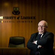 16.02.17<br /> Professor Ray Friel, Associate Professor of Law, University of Limerick with particular expertise/interest in the legal implications of drones, driverless cars, Brexit. Picture: Alan Place