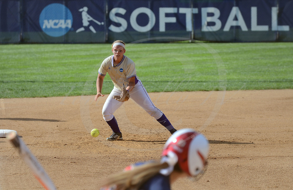 Staff photos by Tom Kelly IV<br /> West Chester University was defeated by Dixie State in their third game of the 2014 NCAA Division II Softball Championship which is being held at Moyer Sports Complex, in Salem, Virginia.  The final score on Saturday May 24, 2014 was 4 - 3, and West Chester was eliminated from the tournament with this being their second loss.