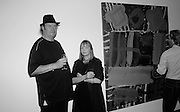 GRAHAM MILESON; LOUISE WHITTLES, Albert Irvin: Painting the Human Spirit - private view<br /> Exhibition dedicated to the memory of Albert Irvin who passed away in March 2015. Private view held on anniversary of Irvin's birthday .Gimpel Fils Gallery, 30 Davies Street, London, 21 August 2015.
