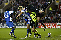 Photo: Richard Lane/Sportsbeat Images.<br />Reading v Chelsea. The FA Barclays Premiership. 15/08/2007. <br />Chelsea's Petr Cech makes a mistake leading to a Reading goal.