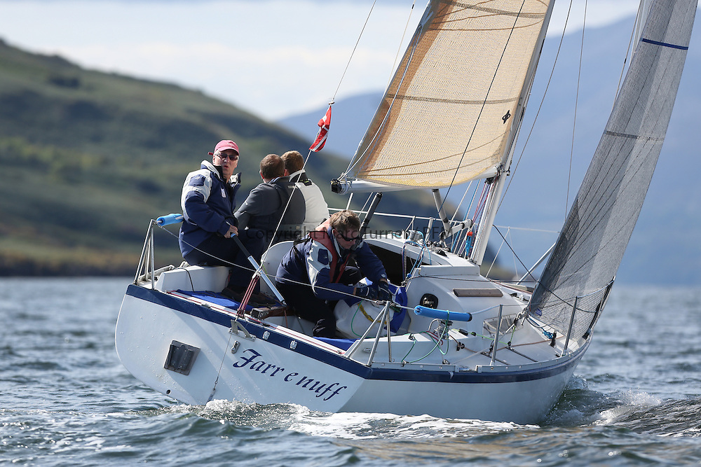 Peelport Clydeport, Largs Regatta Week 2014 Largs Sailing Club based at  Largs Yacht Haven,<br /> <br /> GBR7029, Farr e Nuff, John Kent, LSC/FYC, Farr 727