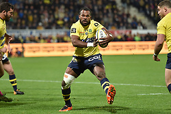 October 28, 2017 - Clermont-Ferrand - Stade Marcel, France - Alivereti Raka  (Credit Image: © Panoramic via ZUMA Press)