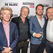 NLD/Amsterdam/20180320 - Presentatie 6de AmsterdamXXXL, advocaat ......, Mark Teurlings, Jan Hein Kuipers en Cees Korvinus