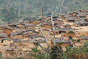 View of the village of Popoko, Bas-Sassandra region, Cote d'Ivoire, on Sunday March 4, 2012.