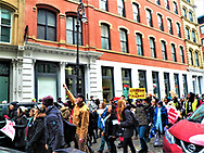 February 10th 2018-You Can&rsquo;t Deport a Movement<br /> Foley Square New York, NY. USA<br /> <br /> Around 300 people from Faith, immigration and community groups took part in a rally and march today.  With the rally being held in g Foley Square, then a symbolic march 2 times around the Federal Building were ravi Ragbir was suppose to report today.   <br /> The rally was followed by the group march though the streets on the Westside up to Judson Memorial Church. February 10th 2018-You Can&rsquo;t Deport a Movement<br /> Foley Square New York, NY. USA<br /> <br /> Around 300 people from Faith, immigration and community groups took part in a rally and march today.  With the rally being held in g Foley Square, then a symbolic march 2 times around the Federal Building were Ravi Ragbir was suppose to report today.   <br /> The rally was followed by the group march though the streets on the Westside up to Judson Memorial Church.