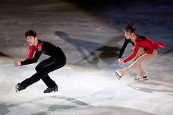 13.11.2010, Eishalle Liebenau, AUT, Icechallenge 2010, im Bild Ji Huang Ri / Won Hyok Thae (PRK) bei der Icegala, EXPA Pictures © 2010, PhotoCredit: EXPA/ Erwin Scheriau