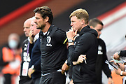 AFC Bournemouth manager Eddie Howe during the Premier League match between Bournemouth and Newcastle United at the Vitality Stadium, Bournemouth, England on 1 July 2020.