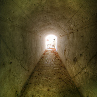 Old mental hospital tunnel near Berlin