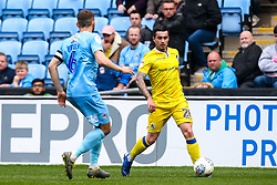 Michael Kelly of Bristol Rovers takes on Liam Kelly of Coventry City - Mandatory by-line: Robbie Stephenson/JMP - 07/04/2019 - FOOTBALL - Ricoh Arena - Coventry, England - Coventry City v Bristol Rovers - Sky Bet League One