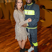 NLD/Aalsmeer/20190902 - fotomoment Dancing with the Stars 2019, rapper Keizer & Katerina Nitsios