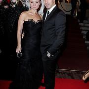 NLD/Amsterdam/20121112 - Beau Monde Awards 2012, Celine Purcell en Oren Schrijver