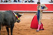 Bullfighter Paco Urena at the Plaza de Toros March 3, 2018 in San Miguel de Allende, Mexico.
