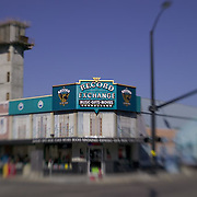 Idaho, Ada County, Boise, Record Exchange, downtown, lensbaby