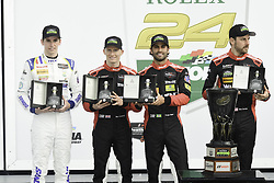 January 28, 2018 - Daytona, FLORIDE, ETATS UNIS - 31 WHELEN ENGINEERING RACING (USA) CADILLAC DPI FELIPE NASR (BRA) ERIC CURRAN (USA) MIKE CONWAY (GBR) STUART MIDDLETON (GBR) LEADER PROTOTYPE PATRON NORTH AMERICAN ENDURANCE CUP (Credit Image: © Panoramic via ZUMA Press)
