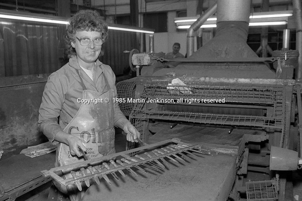 Frank Cobb Ltd, Broad Street Sheffield. 1985
